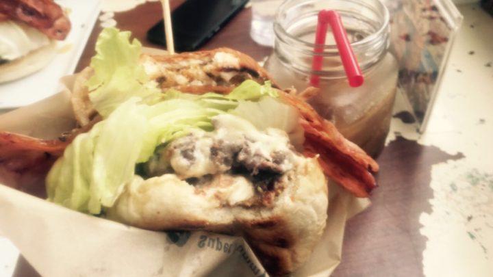 ハンバーガー / 汉堡包(hānbǎobāo)